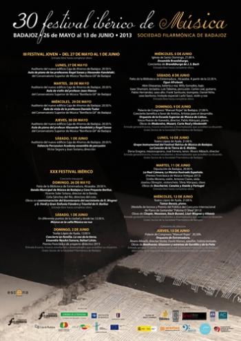 <h5>Programa XXX Edición FIMBA 2013</h5>