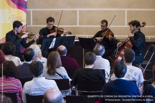 <h5>Quarteto de Cordas da Orquestra Sinfónica Juvenil</h5>