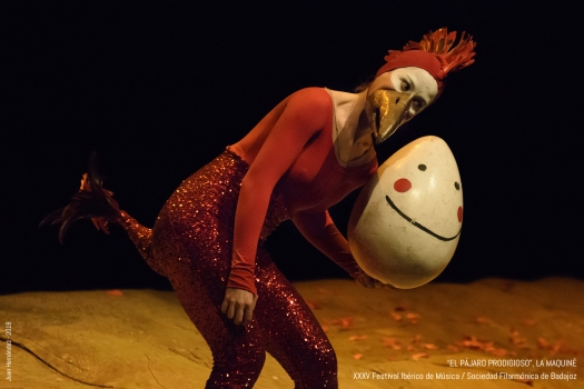 <h5>El pájaro prodigioso, de La Maquiné</h5><p>Escriba su descripcion</p>