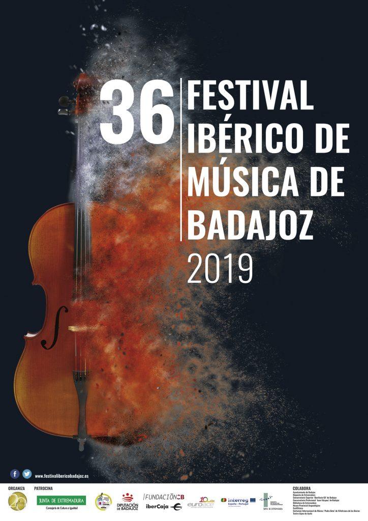 CARTEL SIN PROGRAMA 36 FESTIVAL IBÉRICO DE MÚSICA