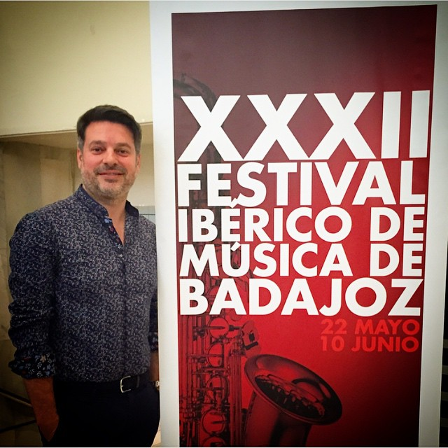 David Menéndez en el XXXII Festival Ibérico de Música de Badajoz