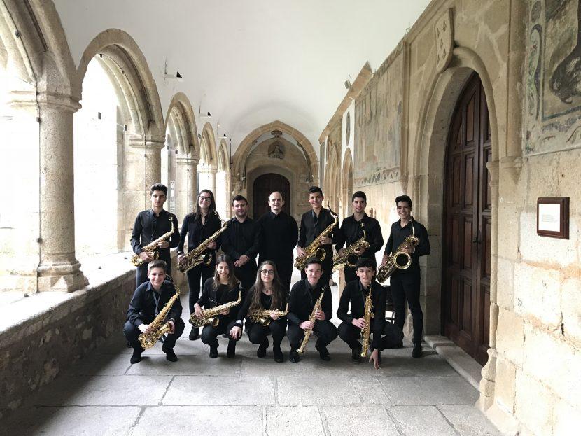 Saxofones del Conservatorio de Cáceres